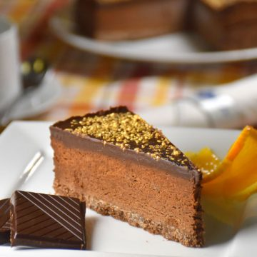 Chocolate & Orange Truffle Torte – Gluten Free